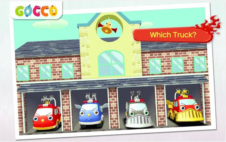 Gocco Fire Truck: 3D Kids Game