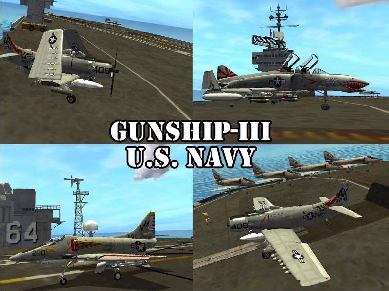 Gunship III - U.S. NAVY