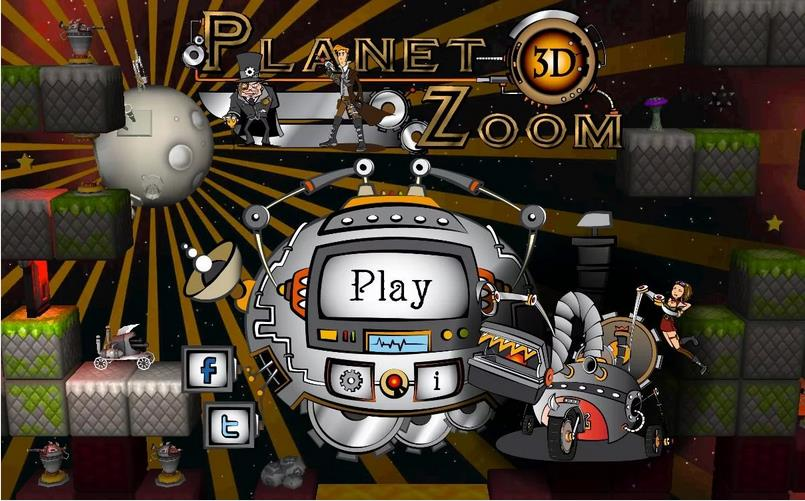 Planet Zoom 3D beta