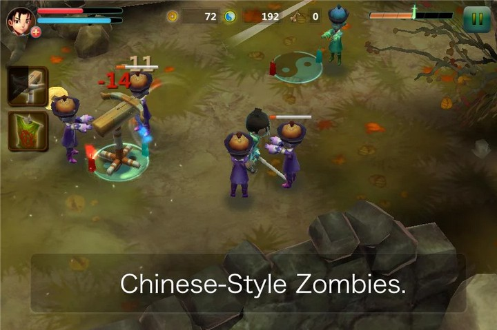 Taoist vs Zombies