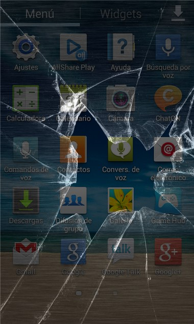 Crack Screen