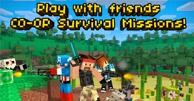 Pixel Gun 3D PRO Minecraft Ed