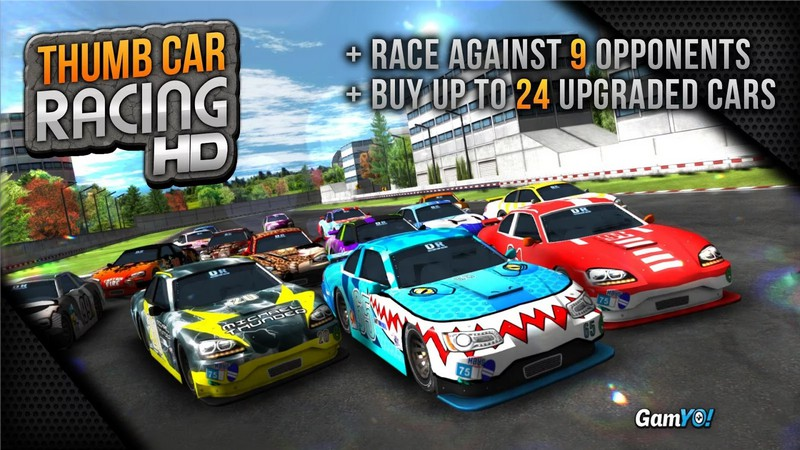 Thumb Car Racing на Андроид