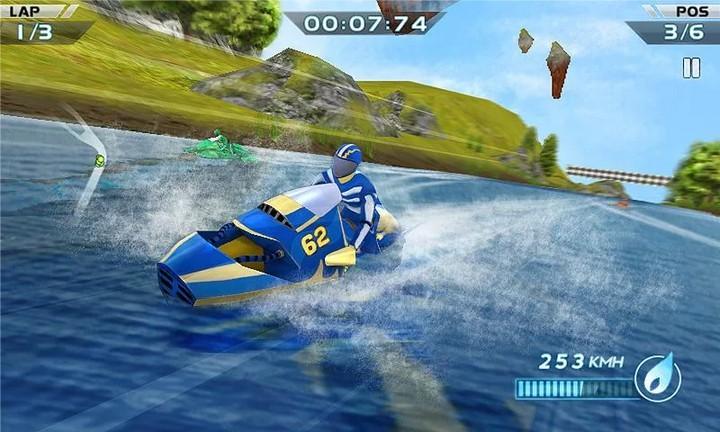 Гонки водных мотоциклов 3D на Андроид