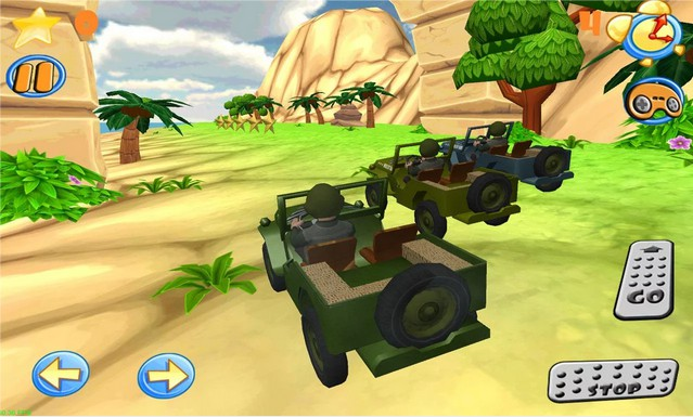 Wild race cars (Jeep 4x4)