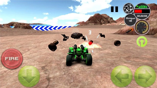 Doom Buggy 3D Racing