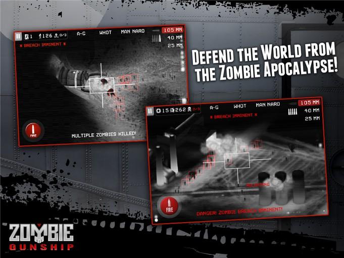 Zombie Gunship Zero