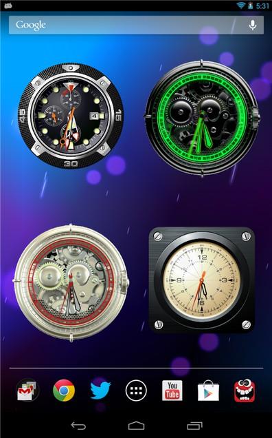 Коллекция аналоговых часов