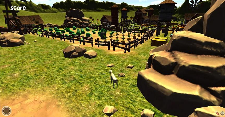 Goat Destructor Simulator 2014