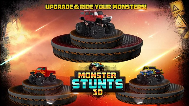 3D MONSTER STUNTS