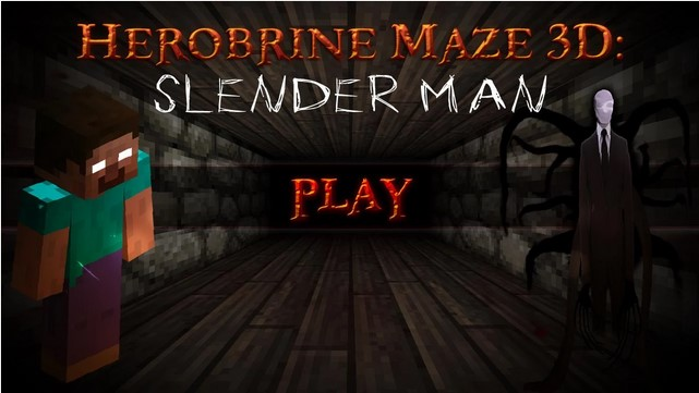 Herobrine Maze 3D