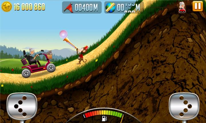 Игра Angry Gran Racing на Андроид