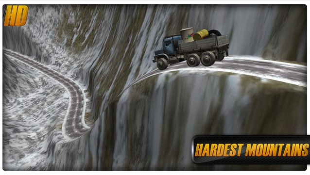 Dirt Road Transport 3D
