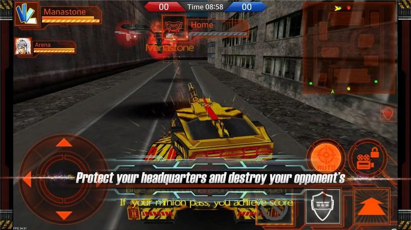 Metal Combat Arena(3D AOS)
