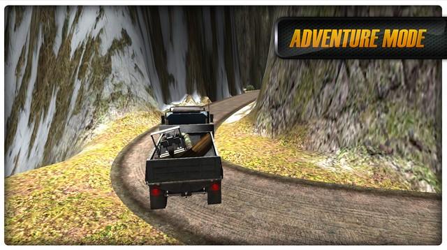 Dirt Road Transport 3D