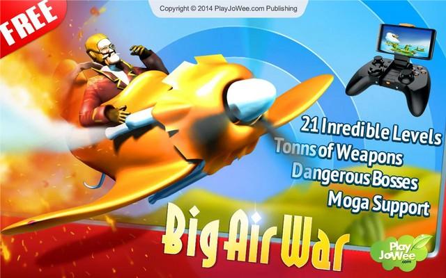 Big Air War Shooter Scroller