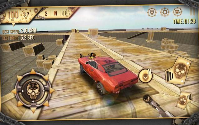 Muscle Car Simulator 3D 2014