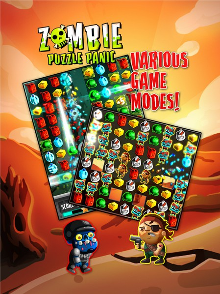 Zombie Puzzle Panic