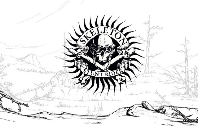 Skeleton Stunt Rider – MTB BMX
