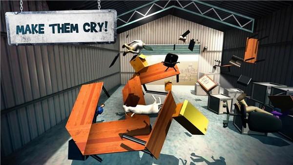 Goat Rampage Simulator