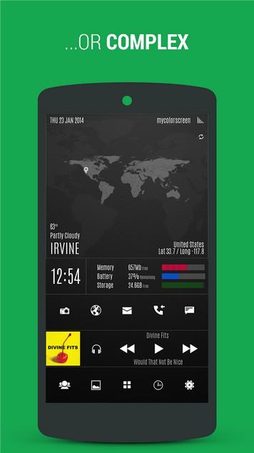 Themer: Launcher, HD Wallpaper