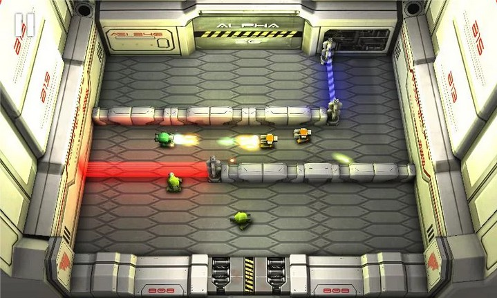 Laser Wars Lite Sony Edition