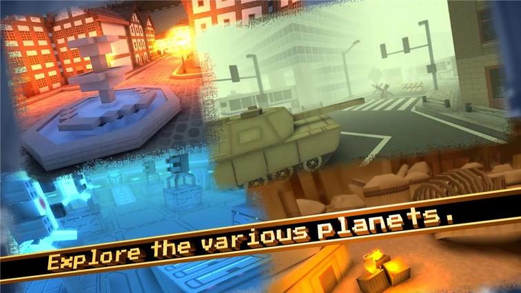 Arms Craft: Pixel SpaceGun FPS
