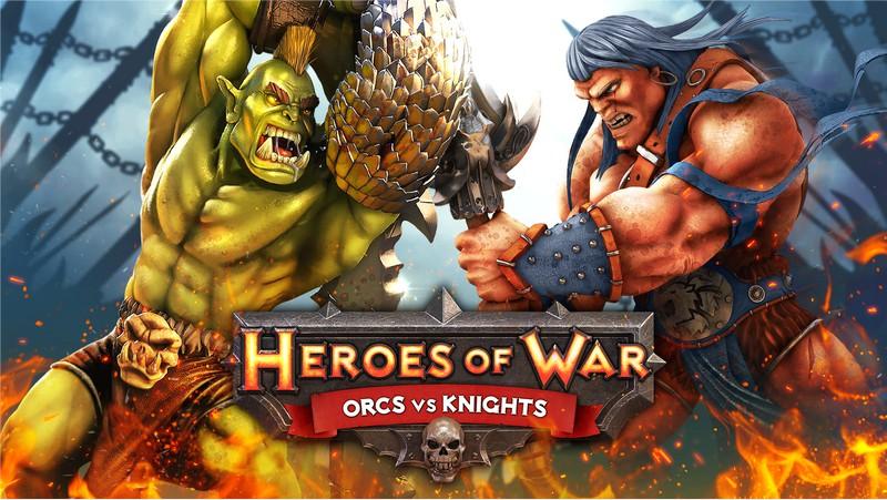 Heroes of War: Orcs vs Knights