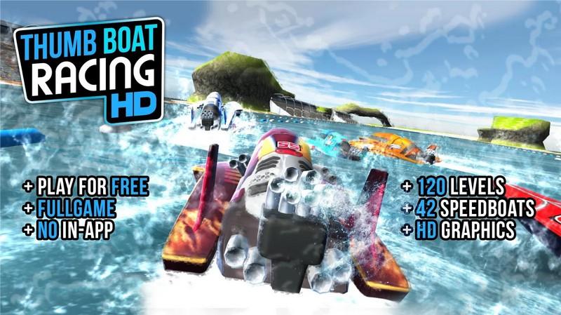 Thumb Boat Racing