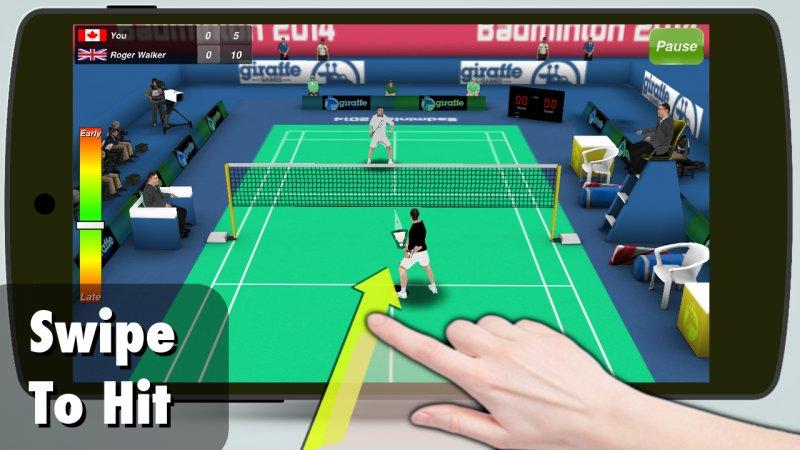 Игра Бадминтон 3D для Android