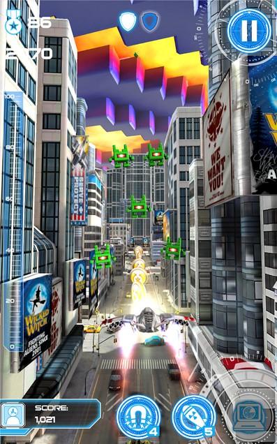 Jet Run: City Defender