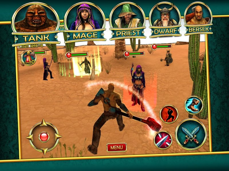 Magic Arena: 3D MMORPG