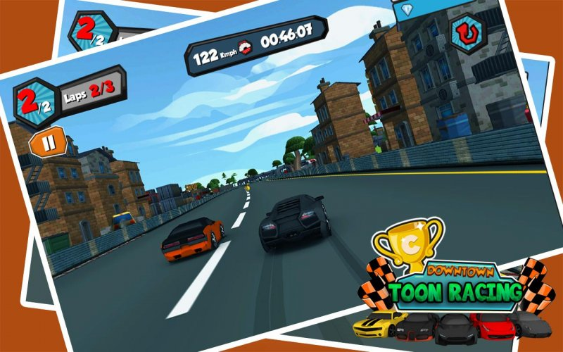Downtown Toon Racing