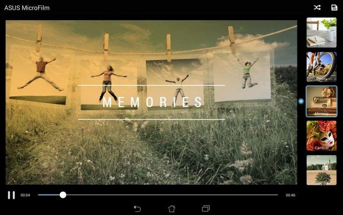 ASUS MicroFilm