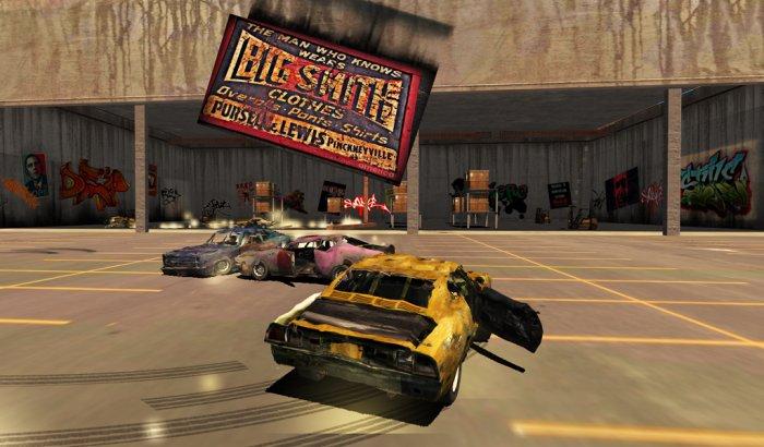 Total Destruction Derby Racing