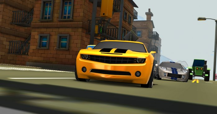 Car Toon Town
