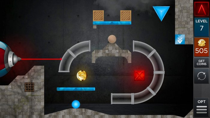 Laserbreak головоломка