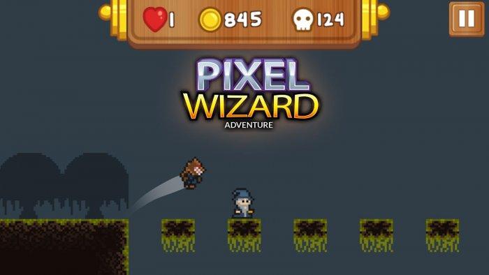Pixel Wizard: 2d Platform RPG