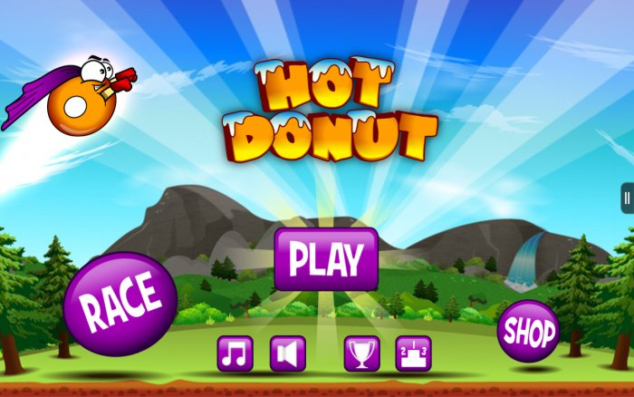 Hot Donut