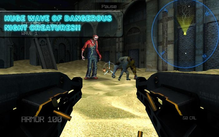Desert Trigger Zombie Assault
