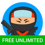 Hideninja Free VPN – защита персональных данных при подключении к интернету