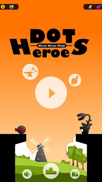 Dot Heroes: Woop Woop Ninja HD