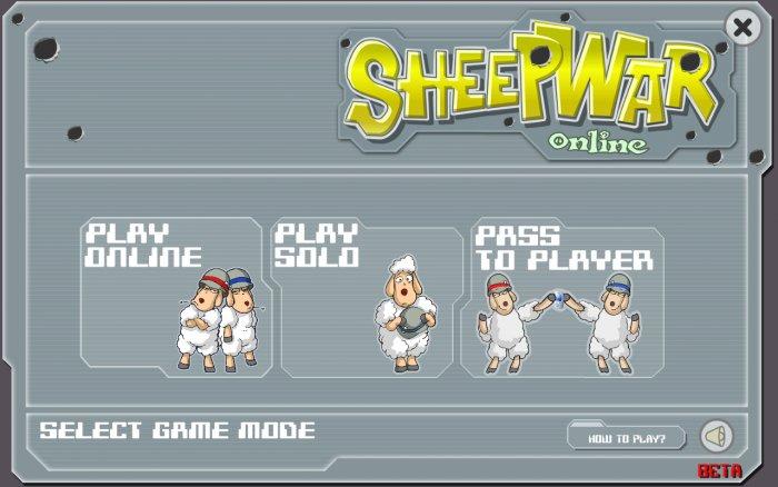 Sheep War (WarSheep) – ONLINE