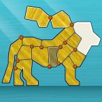 Shape Fold Animals – головоломка о складывании фигурок зверей