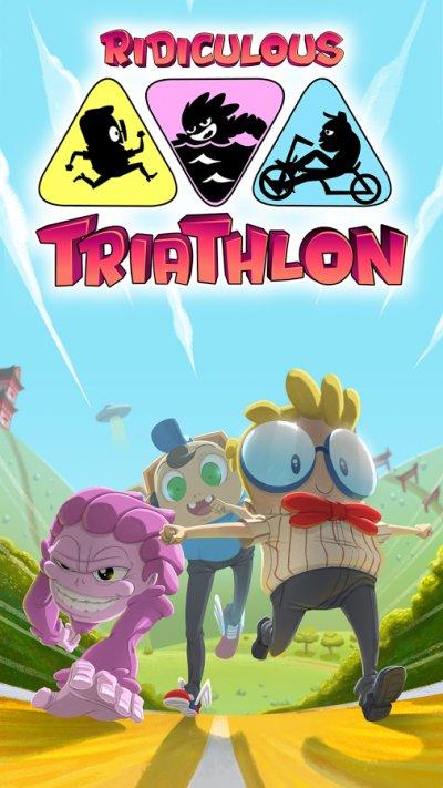 Ridiculous Triathlon - бегун