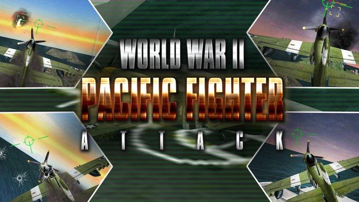 3D WW2 Pacific Fighter Attack
