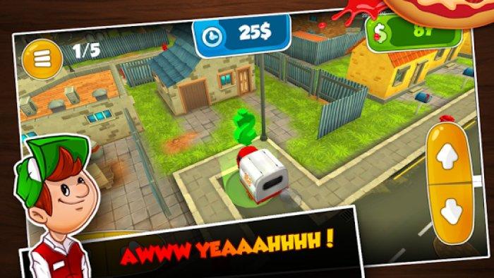3D Driving Sim: Pepperoni Pepe