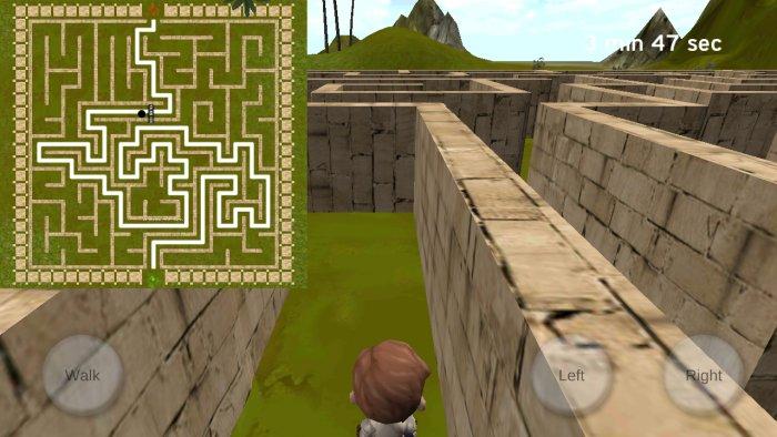 3D Maze (The Labyrinth)