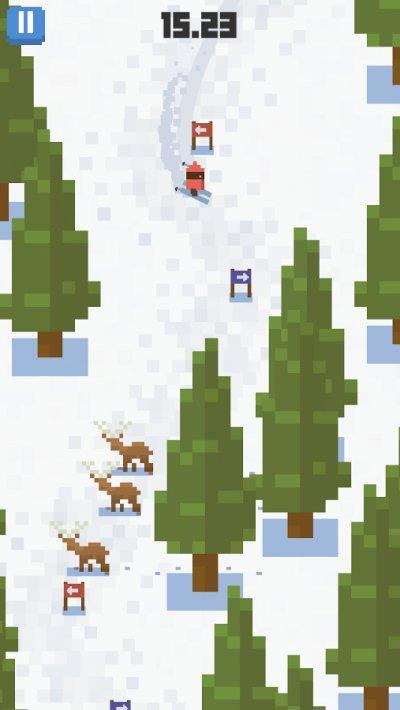 Skiing Yeti Mountain