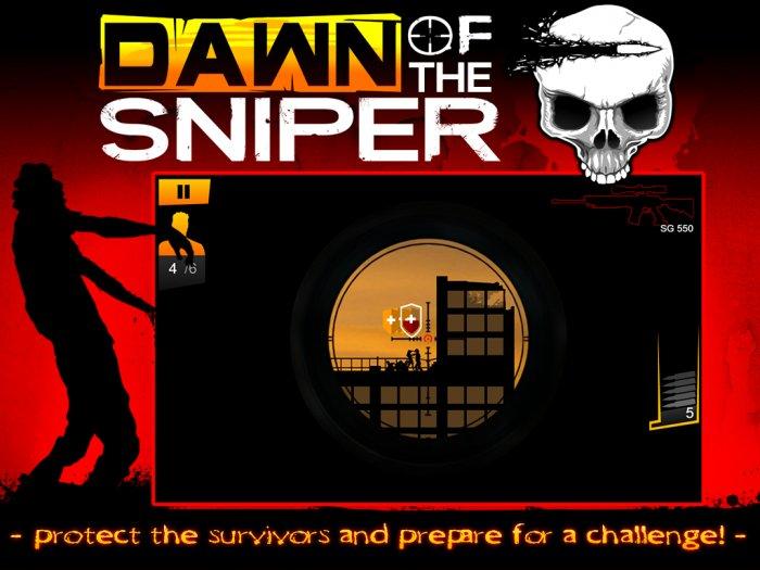 Скачать Dawn Of The Sniper для Андроид бесплатно